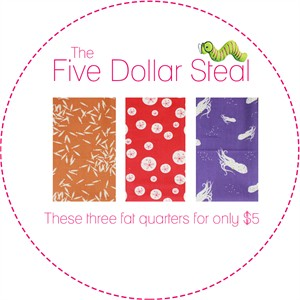 Five Dollar Steal, Oceanic in FAT QUARTERS 3 Total