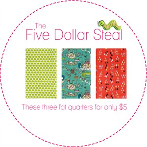 Five Dollar Steal, Picnic Time in FAT QUARTERS 3 Total