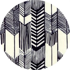Hoffman Fabrics, Indah BATIKS, Feathered Arrows Zebra
