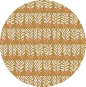 Rae Ritchie for Dear Stella, Trail Mix, Feathers Mustard
