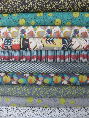 Felicity Miller, Charleston Farmhouse, Night in FAT QUARTERS 10 Total