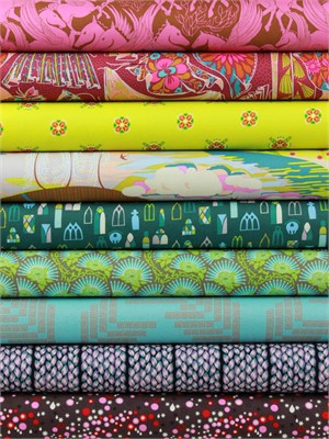 Anna Maria Horner for Free Spirit, Fibs and Fables, Fanciful in FAT QUARTERS 9 Total