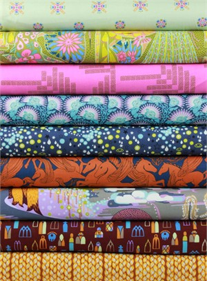 Anna Maria Horner for Free Spirit, Fibs and Fables, Noble in FAT QUARTERS 7 Total
