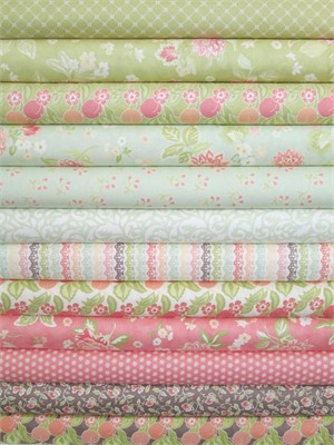 Fig Tree & Co., Mirabelle in FAT QUARTERS 12 Total (PRE-CUT)