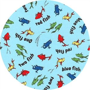 Robert Kaufman, One Fish Two Fish, Fish Blue