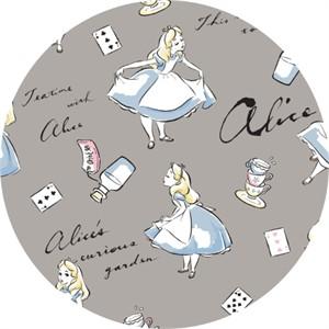 Camelot Fabrics, Disney FLANNEL, Alice in Wonderland