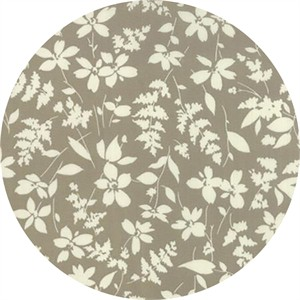 Studio M for Moda, Basic Mixologie Geometrics, Floral Breezy Grey