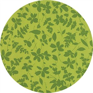Studio M for Moda, Basic Mixologie Geometrics, Floral Breezy Light Green