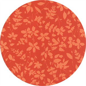 Studio M for Moda, Basic Mixologie Geometrics, Floral Breezy Orange