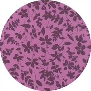 Studio M for Moda, Basic Mixologie Geometrics, Floral Breezy Purple
