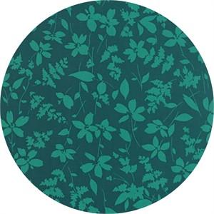 Studio M for Moda, Basic Mixologie Geometrics, Floral Breezy Turquoise