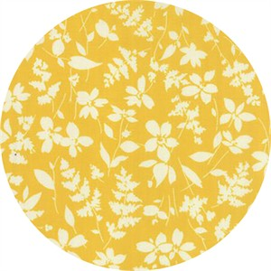 Studio M for Moda, Basic Mixologie Geometrics, Floral Breezy Yellow