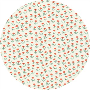Elizabeth Olwen for Cloud9, ORGANIC, Park Life, Flower Field Coral