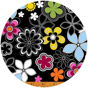 French Bull, Delight, Flower Pop Black