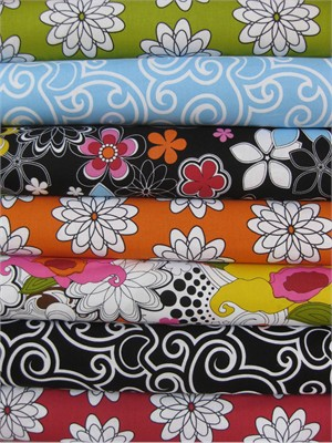 French Bull, Delight in FAT QUARTERS 7 Total