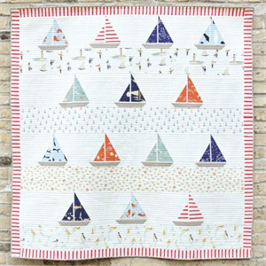 Free Pattern | Ahoy Sailor Quilt | By Suzy Williams