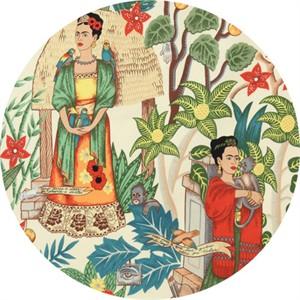"Alexander Henry, Frida's Garden Tea (36"" Panel)"