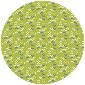 Frances Newcombe for Art Gallery, Safari Moon, River Shadows Chartreuse