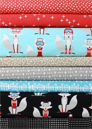 Fabricworm Custom Bundle, Frosty Foxes 8 Total