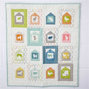 Free Pattern | Farm Fresh Mini Quilt | by Keiko Vogel