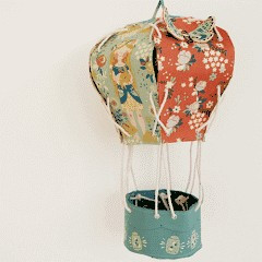 Free PDF Pattern & Tutorial: Fabric Hot Air Balloon