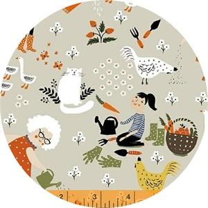 Dinara Mirtalipova for Windham, Gardening, Main Cream