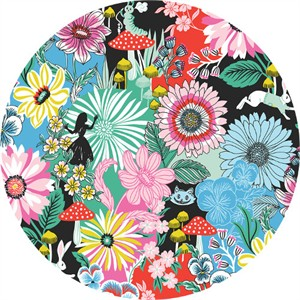 COMING SOON, Josephine Kimberling for Blend, Wonderland, Garden of Wonder Blue
