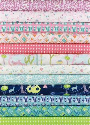 Katy Tanis for Blend, Garden Party in FAT QUARTERS 12 Total