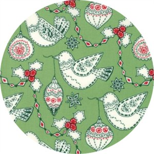 Kate Spain for Moda, Merry Merry, Garland Spruce