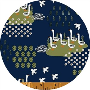 Dinara Mirtalipova for Windham, Gardening, Geese Navy