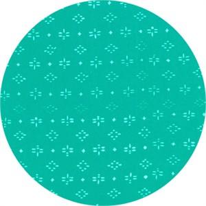 Hoffman Fabrics, Indah BATIKS, Geo Dragonfly Aquamarine