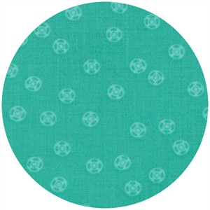 Gina Martin for Moda, Sewing Box, Snaps Teal