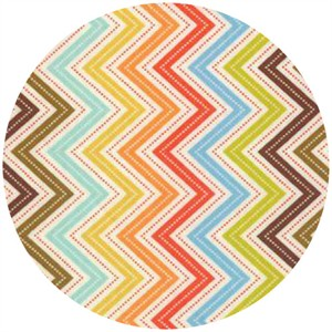 Gina Martin for Moda, Wrens & Friends, Chevron Multi Cream