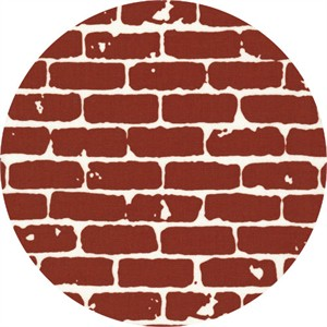 Latifah Saafir for Hoffman Fabrics, Grafic, Brick Walls Brick