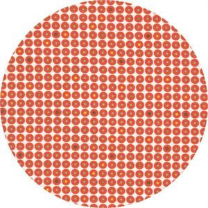 Latifah Saafir for Hoffman Fabrics, Grafic, Records Flame