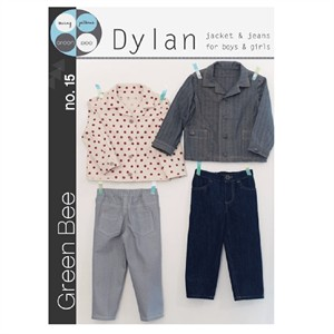 Green Bee Sewing Pattern, Dylan Jacket & Jeans