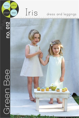 Green Bee Sewing Pattern, Iris Dress, Tank, and Leggings