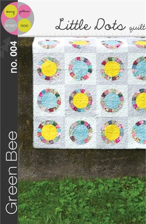 Green Bee Sewing Pattern, Little Dots Quilt