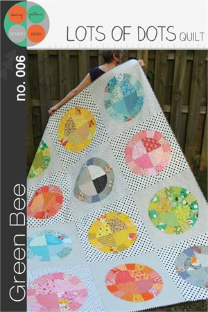 Green Bee Sewing Pattern, Lots of Dots Quilt