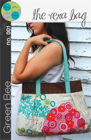 Green Bee Sewing Pattern, The Vera Bag