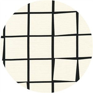 Sevenberry for Robert Kaufman, CANVAS Prints 2, Gridded Ivory