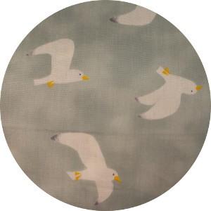 Japanese Import, DOUBLE GAUZE, Gulls Cloud