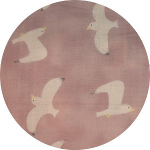 Japanese Import, DOUBLE GAUZE, Gulls Pink