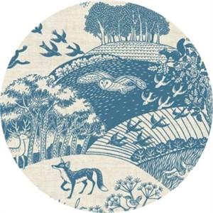 Makower UK, Heartwood, Scenic Blue
