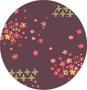 Monaluna, ORGANIC, Haiku 2, Scattered Petals Metallic