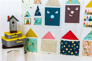 Happy Houses Quilt Kit Featuring Happy Town