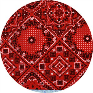 Cosmo Textiles, SHIRTING, Bandana, Handkerchief Red