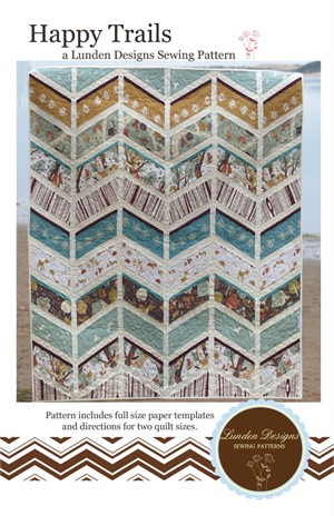 Sewing Pattern, Lunden Designs, Happy Trails Quilt Pattern
