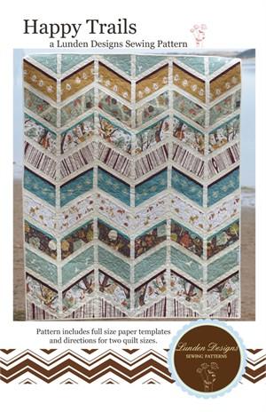Lunden Designs, Sewing Pattern, Happy Trails Quilt Pattern