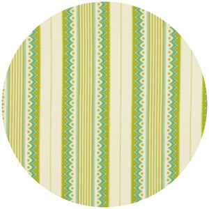 Heather Bailey, Lottie Da, Carousel Stripe Olive